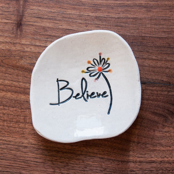 Believe Dishette by Cheryl Stevens - © Blue Pomegranate Gallery
