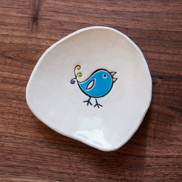 Bird Dishette by Cheryl Stevens - © Blue Pomegranate Gallery