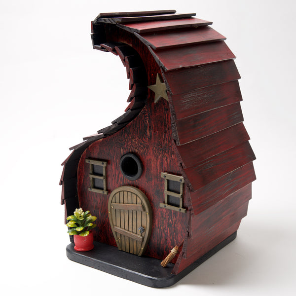 "Dirty Bird"" Bird House by Coulter & Determan - © Blue Pomegranate Gallery"