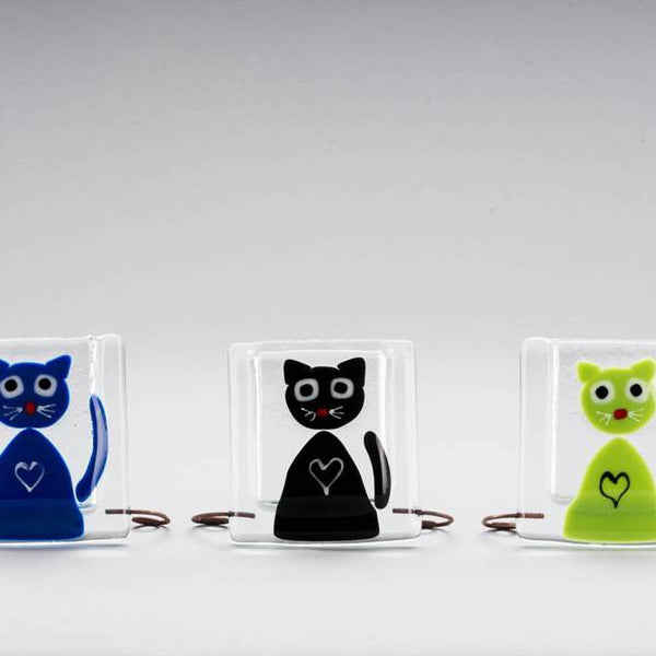 Cat Vase by Ebba Krarup