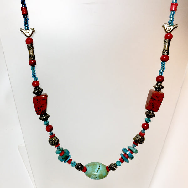 Georgia Necklace by Stephanie Heller Durr - © Blue Pomegranate Gallery