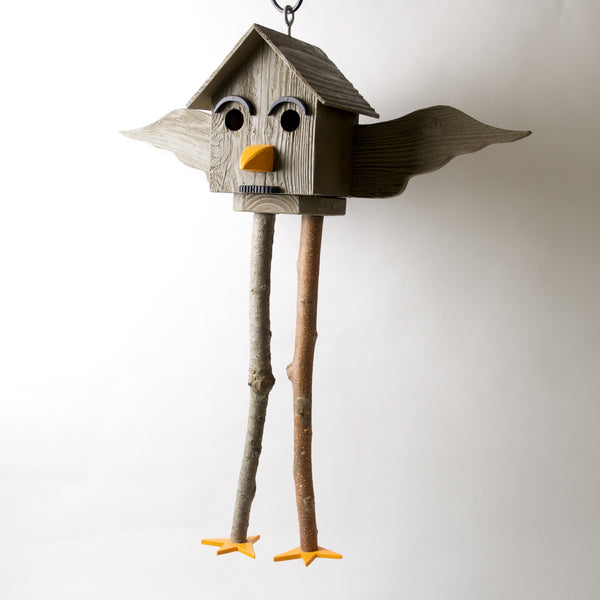 Groucho Hanging Bird House by Coulter & Determan - © Blue Pomegranate Gallery