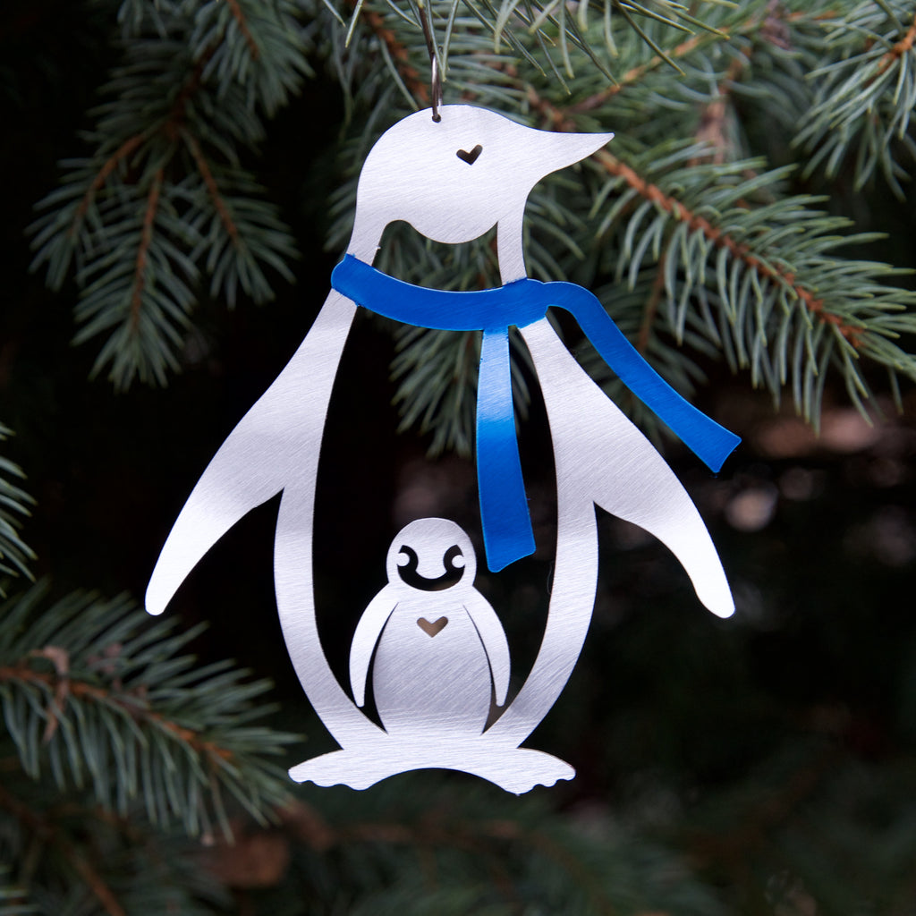 Penguin Ornament by Sondra Gerber - © Blue Pomegranate Gallery
