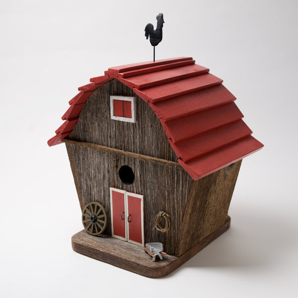 Hen House Bird House by Coulter & Determan - © Blue Pomegranate Gallery