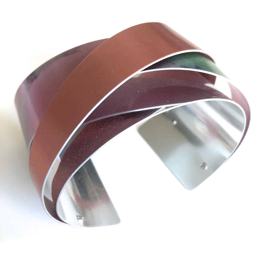 Anodized Aluminum Bracelet by Jon Klar - © Blue Pomegranate Gallery