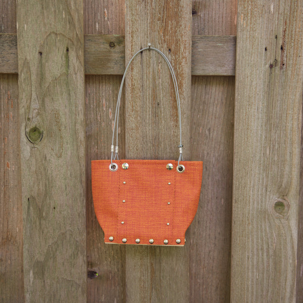 Sm Matte Orange Runway Handbag by Renee Sonnichsen - © Blue Pomegranate Gallery