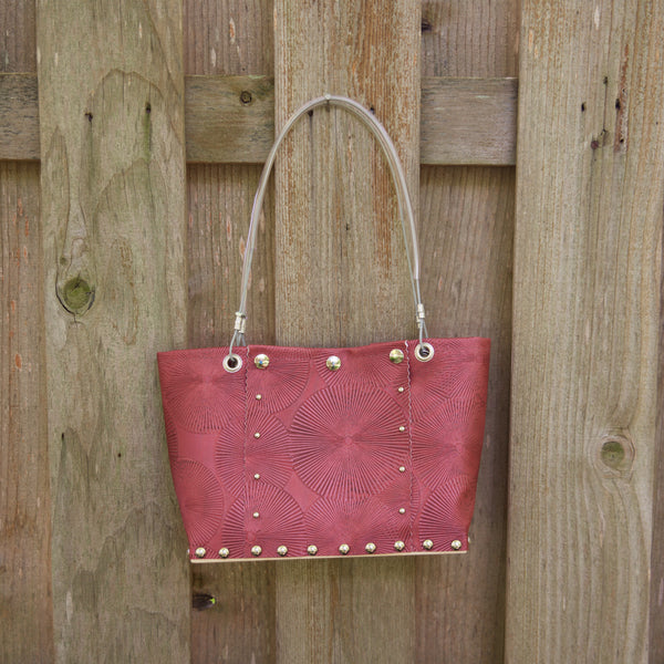 Med Chariot Red Split Handbag by Renee Sonnichsen - © Blue Pomegranate Gallery