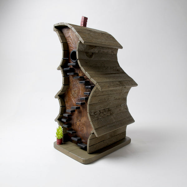 Crooked Stairs Bird House by Coulter & Determan - © Blue Pomegranate Gallery