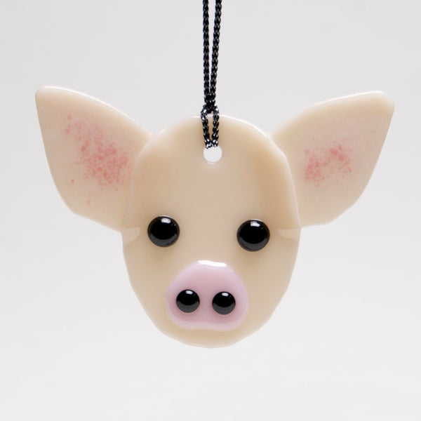 Pig Ornament, Sun Catcher by Charlotte Behrens - © Blue Pomegranate Gallery