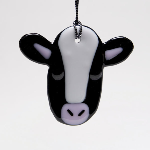 Cow Ornament, Sun Catcher by Charlotte Behrens - © Blue Pomegranate Gallery