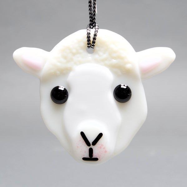 Sheep Ornament, Sun Catcher by Charlotte Behrens - © Blue Pomegranate Gallery