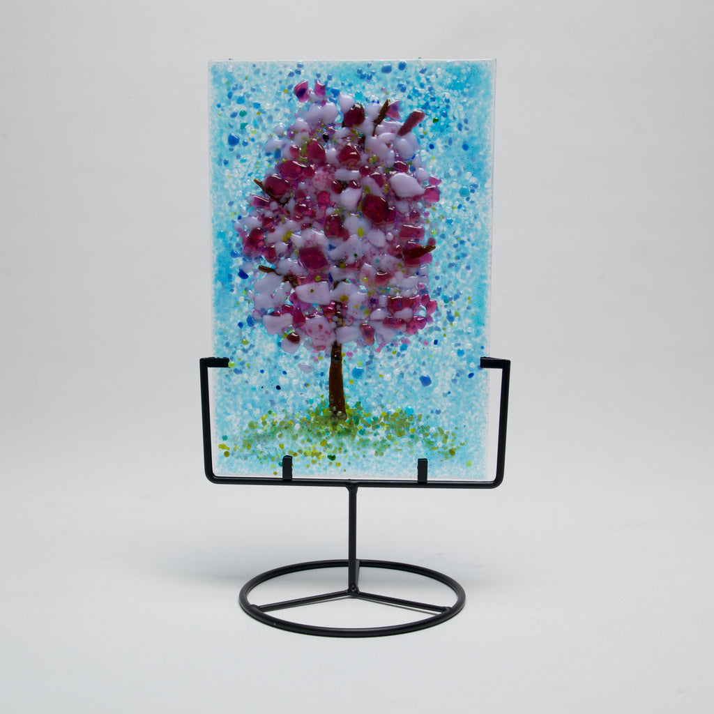 Spring Tree in Stand by Jennifer DeMoss - © Blue Pomegranate Gallery