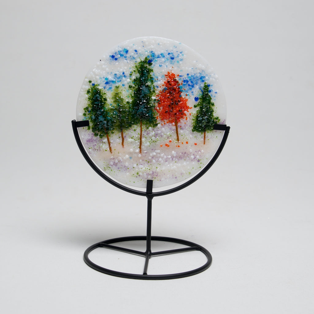 Trees Mini Scape by J DeMoss - © Blue Pomegranate Gallery