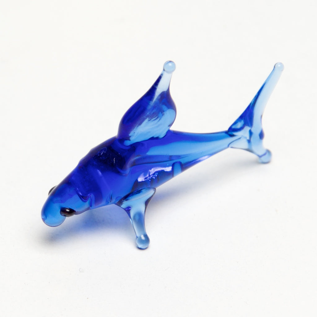 Ocean Micro blown glass figurines w/ box. - © Blue Pomegranate Gallery