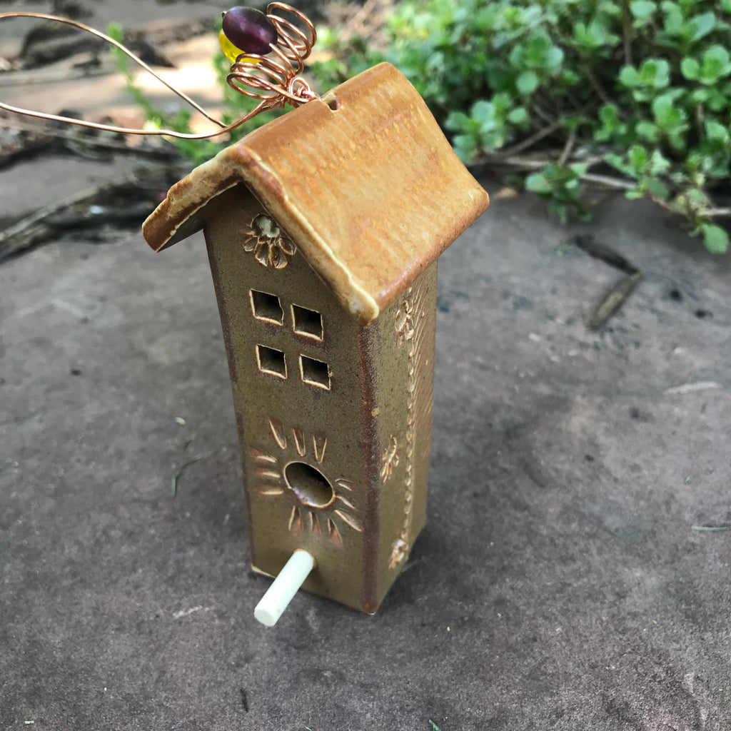Mini Hanging Birdhouse by Michael Macone - © Blue Pomegranate Gallery