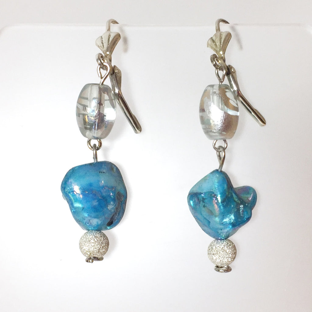 Felicity Earrings by Stephanie Heller Durr - © Blue Pomegranate Gallery