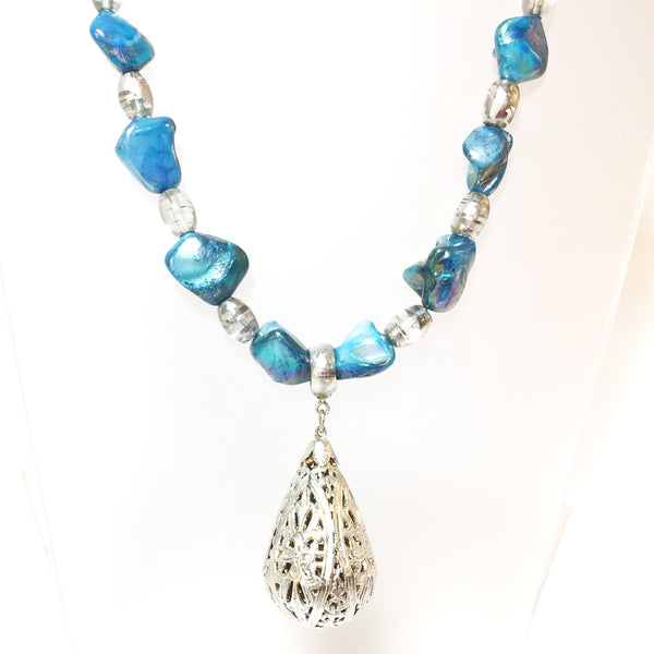 Felicity Necklace by Stephanie Heller Durr - © Blue Pomegranate Gallery