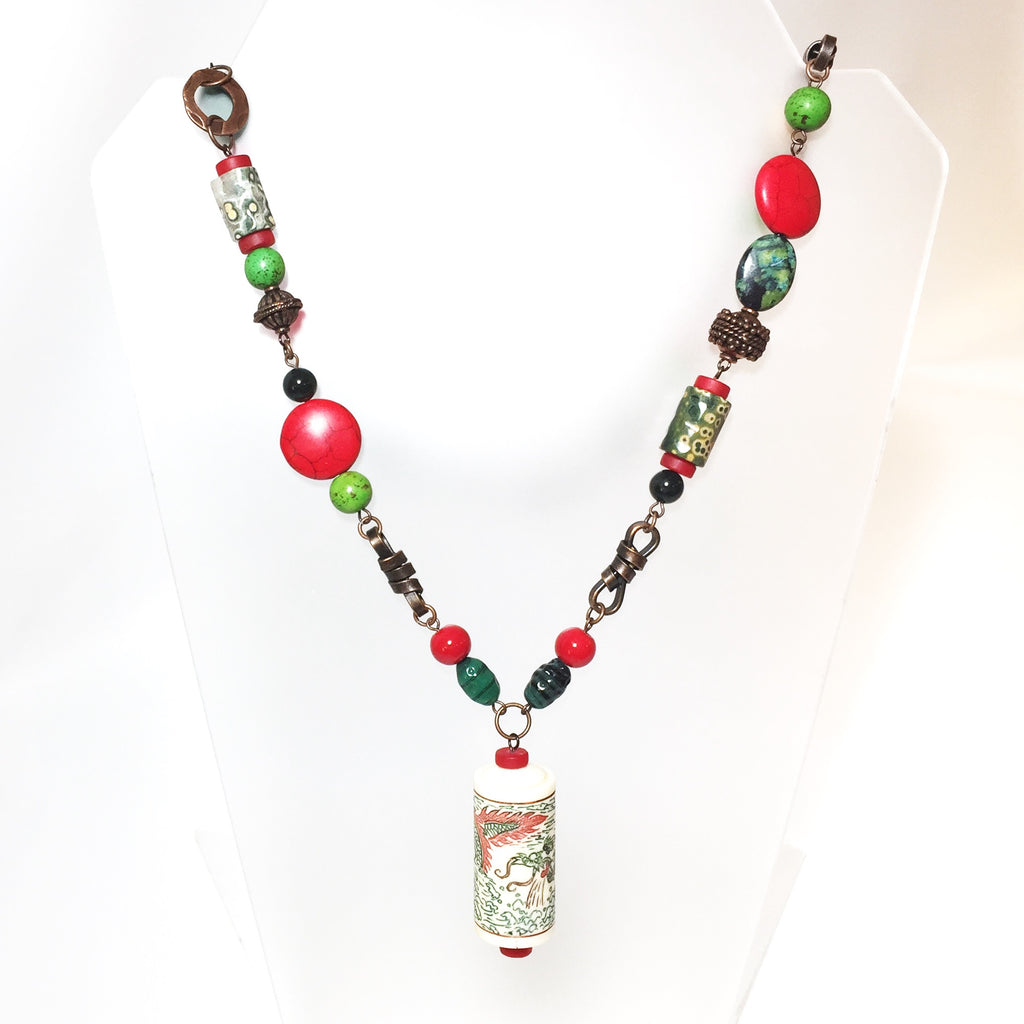 Xian Necklace by Stephanie Heller Durr - © Blue Pomegranate Gallery