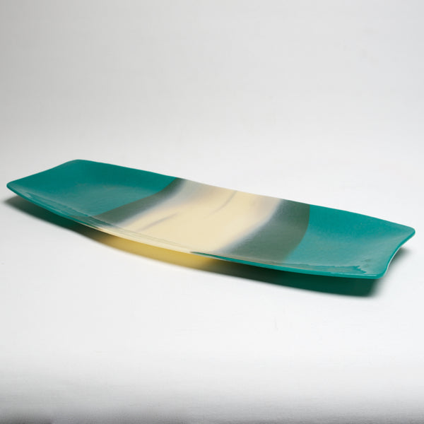 Aqua Tray by Jennifer DeMoss - © Blue Pomegranate Gallery