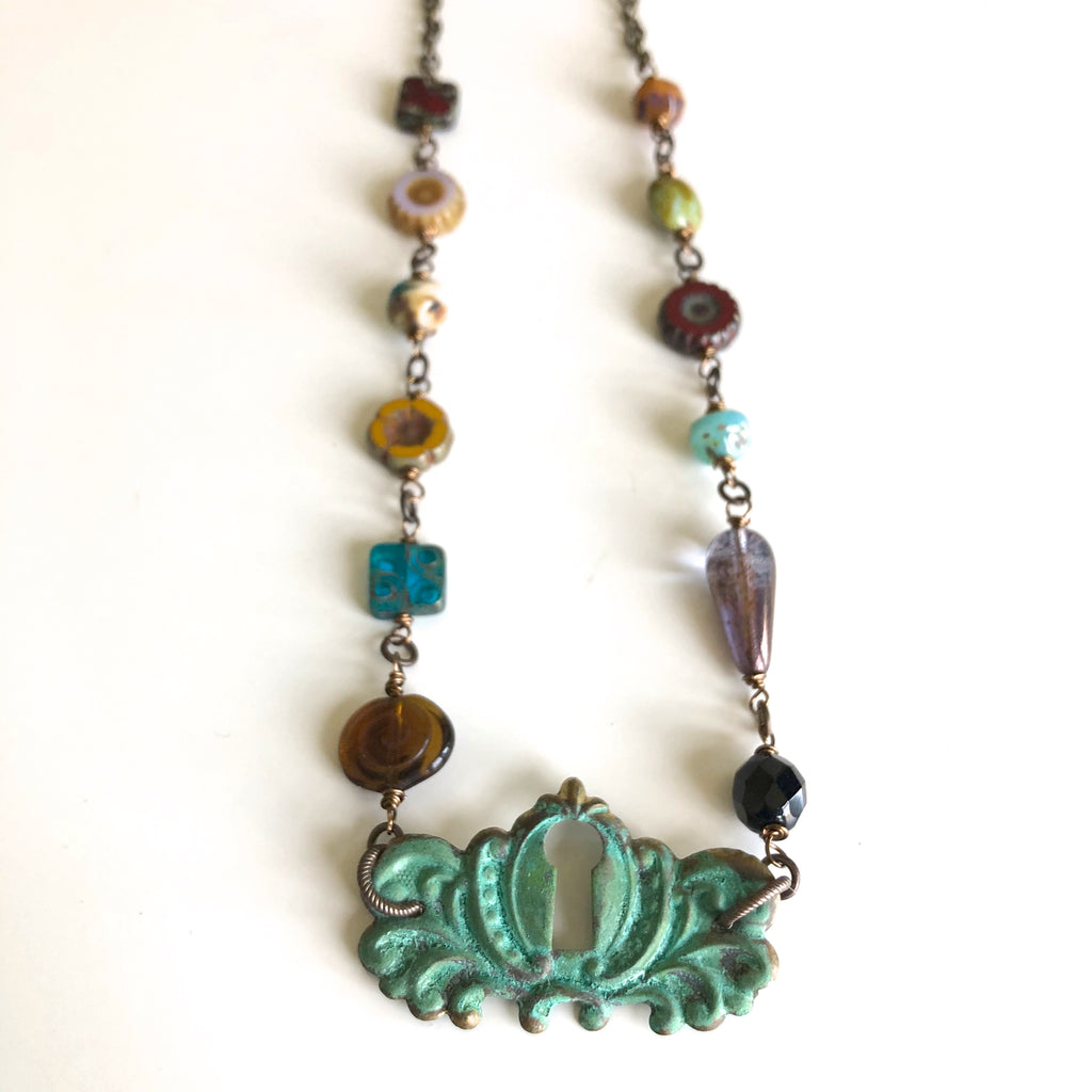 Patina Metal Findings by Kristi Harrison - © Blue Pomegranate Gallery