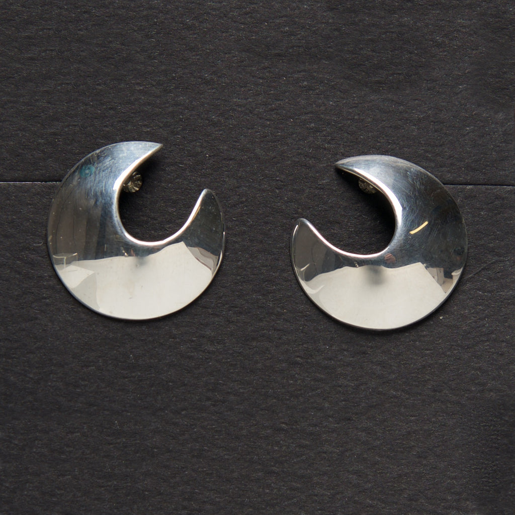 MM-E-14 Earring, Sterling by Margie Magnuson - © Blue Pomegranate Gallery
