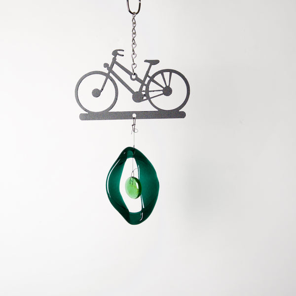Mini Bicycle Wind Chime by Chalfant - © Blue Pomegranate Gallery