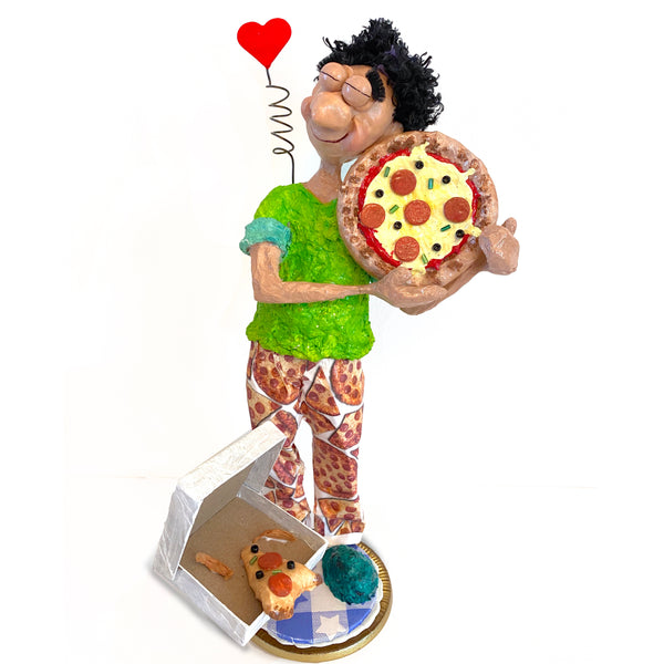Pizza Love By Naava Naslavsky - © Blue Pomegranate Gallery