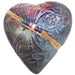 Raku Butterfly Heart Rattle by Davis - © Blue Pomegranate Gallery