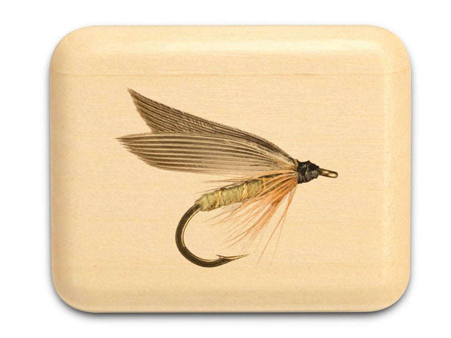 Small Fishing Lure Aspen Art Box 5/8 x 1-3⁄4 x 1-1/2 - © Blue Pomegranate Gallery