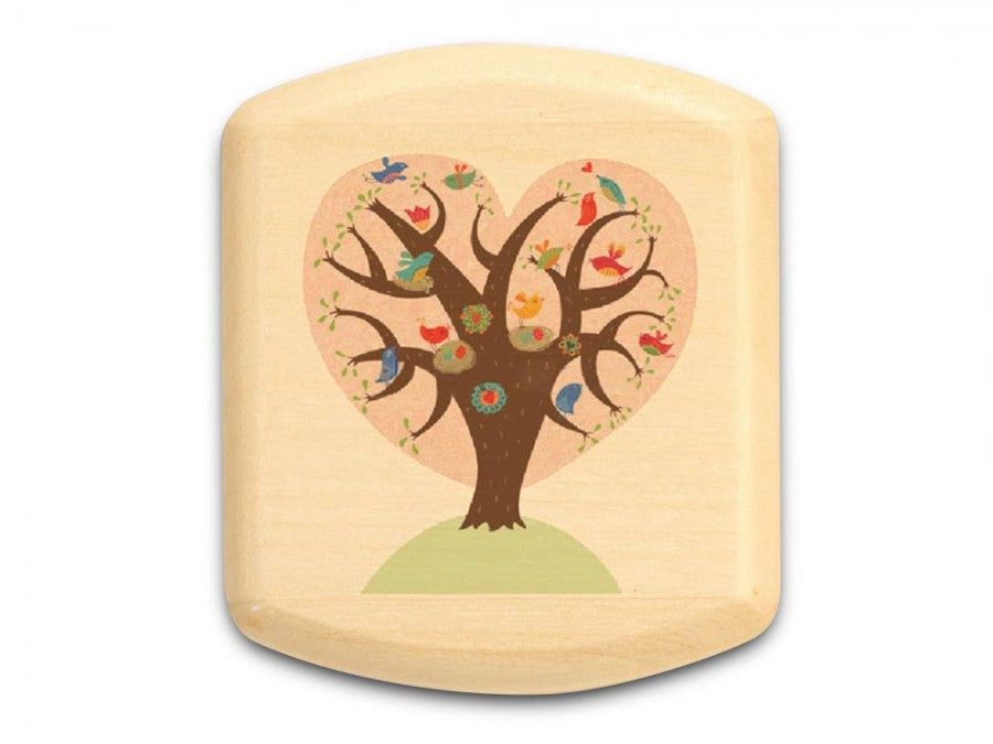 Heart Tree Aspen Art Box 5/8 x 1-3/4 x 2 - © Blue Pomegranate Gallery