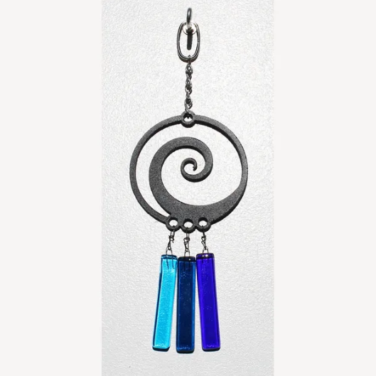 Spiral Tinkler Wind Chime by Chalfant - © Blue Pomegranate Gallery