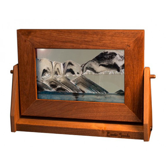 Alder Wood Sand Panel, SM, Arctic Clear - © Blue Pomegranate Gallery