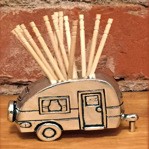 Camper Toothpick Holder by Bonnie Bond - © Blue Pomegranate Gallery