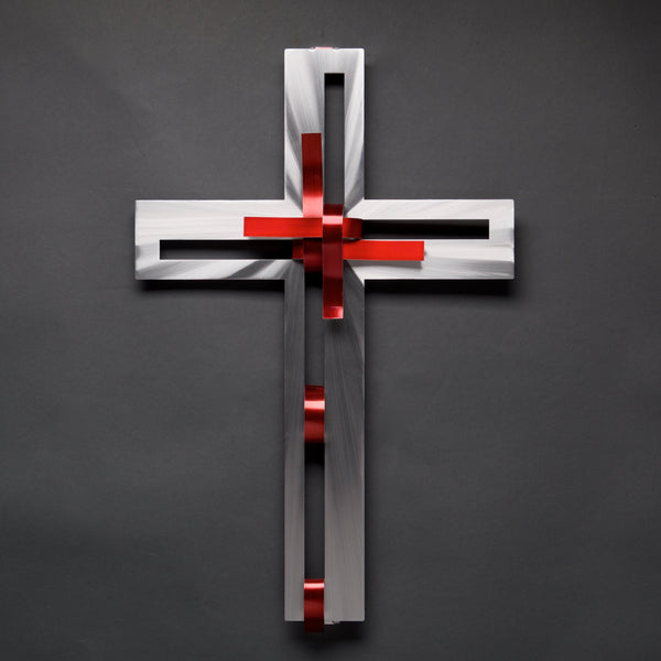 Ribbon Cross by Sondra Gerber - © Blue Pomegranate Gallery