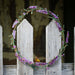 Lavender & Bee Wreath by Jim & Madeleine Crowdus - © Blue Pomegranate Gallery