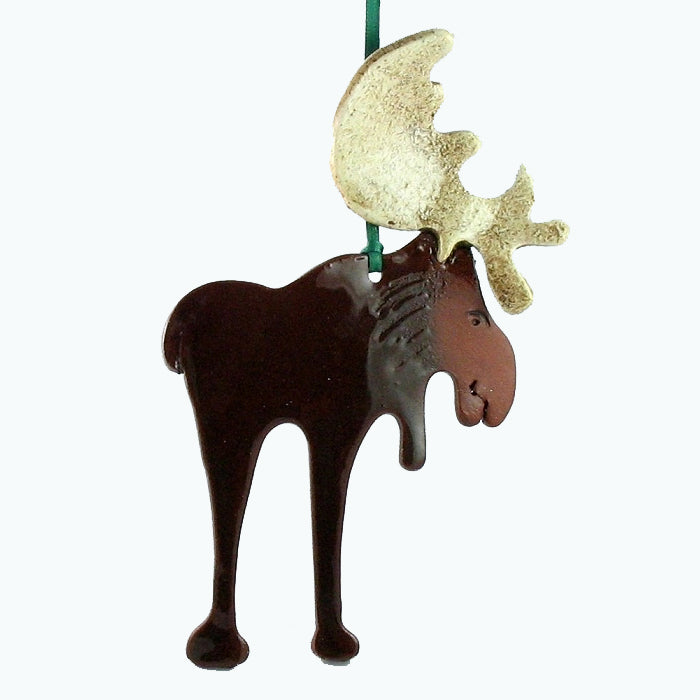 Moose Ornament by Molly Saunders - © Blue Pomegranate Gallery