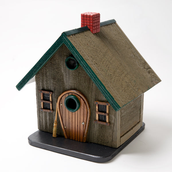 Wipe your feet Bird House by Coulter & Determan - © Blue Pomegranate Gallery