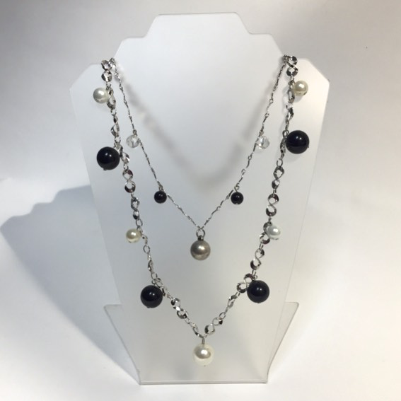 Camilla Beaded Necklace by Stephanie Heller Durr - © Blue Pomegranate Gallery
