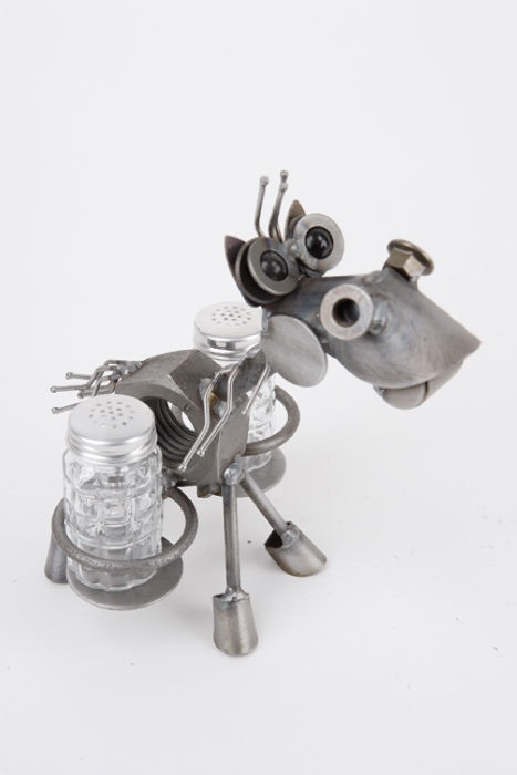 Horse Salt & Pepper shaker holder by Rich Kolb - © Blue Pomegranate Gallery