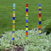 Garden Stake 1x24in by Cy Turnbladh Karon Ohm - © Blue Pomegranate Gallery
