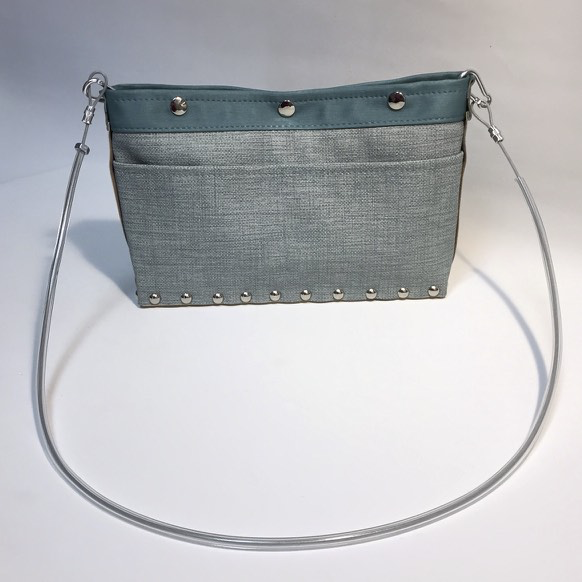 Oxford/Teal Journey Cross Body Handbag by Renee Sonnichsen - © Blue Pomegranate Gallery