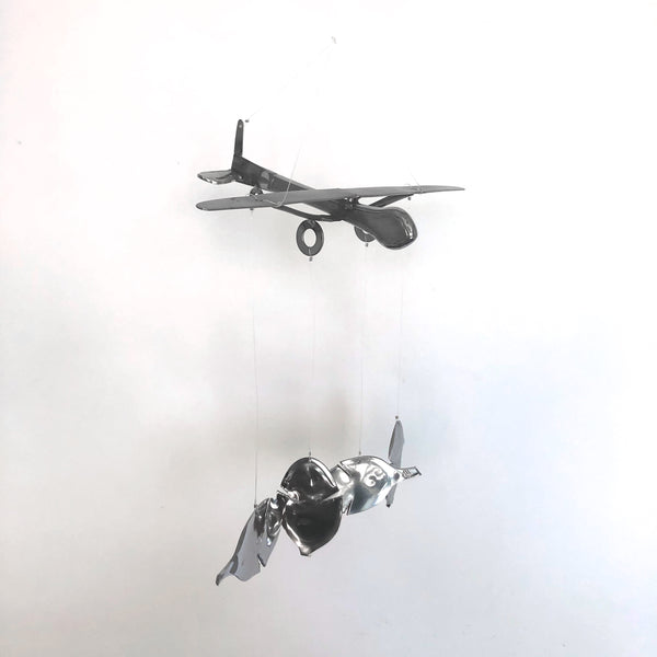 Airplane Chime by Mike Kelley - © Blue Pomegranate Gallery