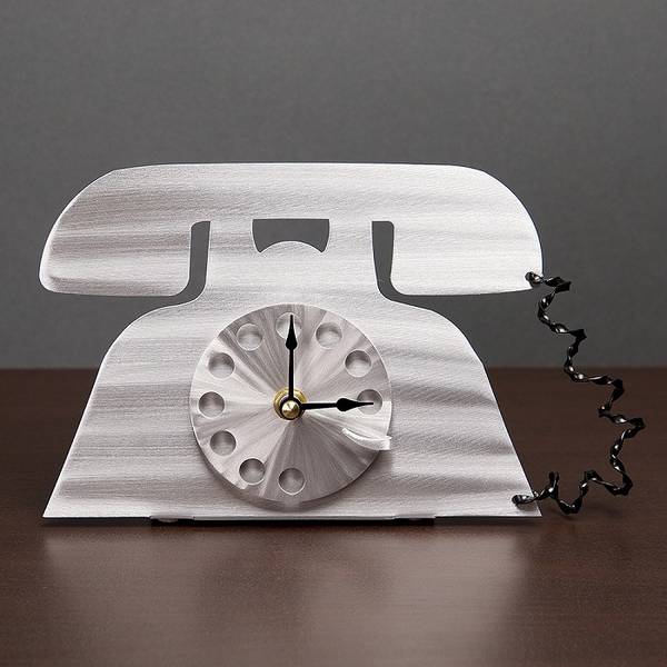 Talk Time Clock and Letter Holder by Sondra Gerber