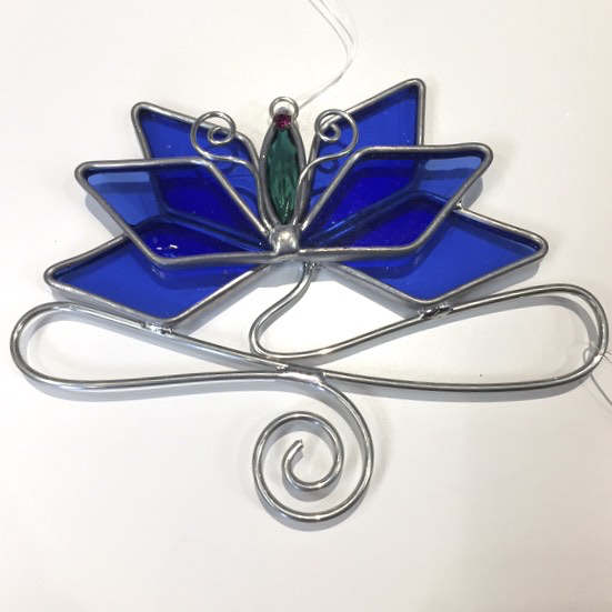 Lotus Sun Catcher  by Mark Pietrzak 5 x 4""