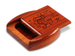 "Padauk Tooth Fairy II Box 1/2 x 2 x 2"" by Michael Fisher - © Blue Pomegranate Gallery"