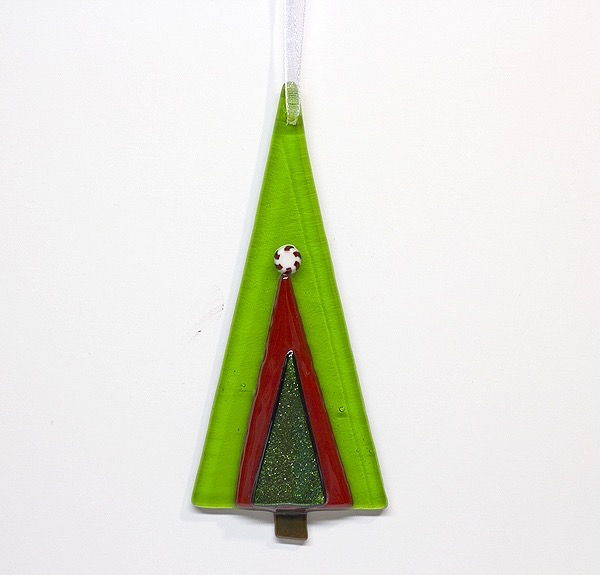 Peppermint Tree Ornament by DeMoss - © Blue Pomegranate Gallery