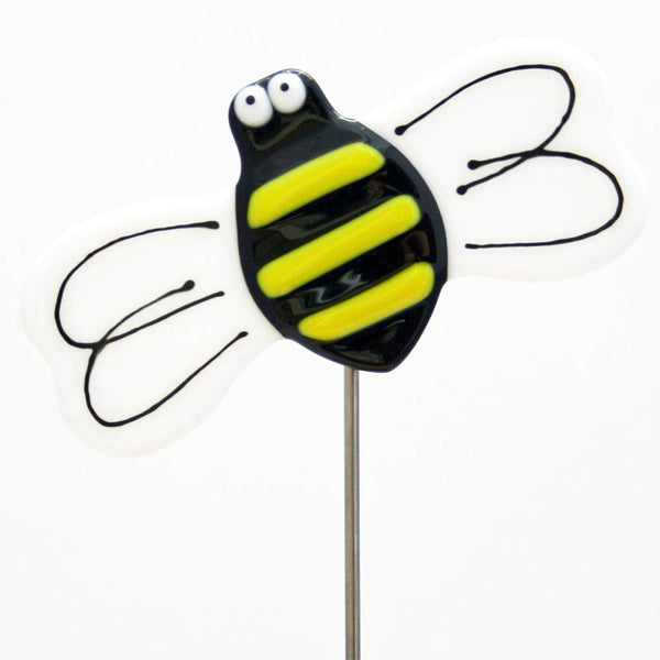 Bee Plant Stake by Kristi Thorndike Kent - © Blue Pomegranate Gallery