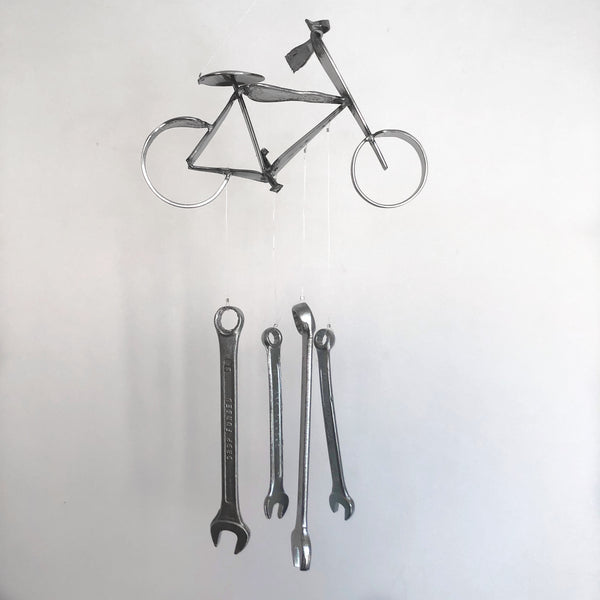 Bicycle Chime by Mike Kelley - © Blue Pomegranate Gallery