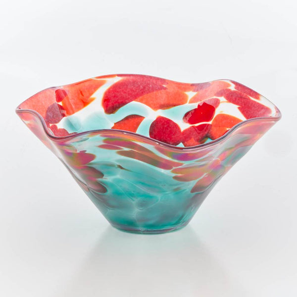 Mini Ruffle Bowl by Glass Eye - © Blue Pomegranate Gallery
