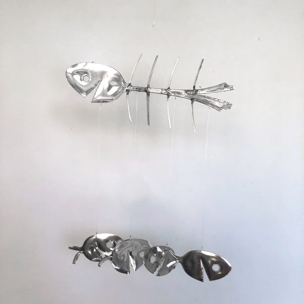 Bony Fish Chime by Mike Kelley - © Blue Pomegranate Gallery